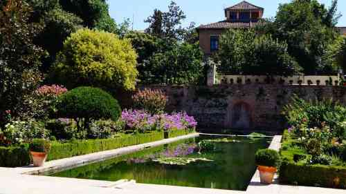 Generalife en Granada