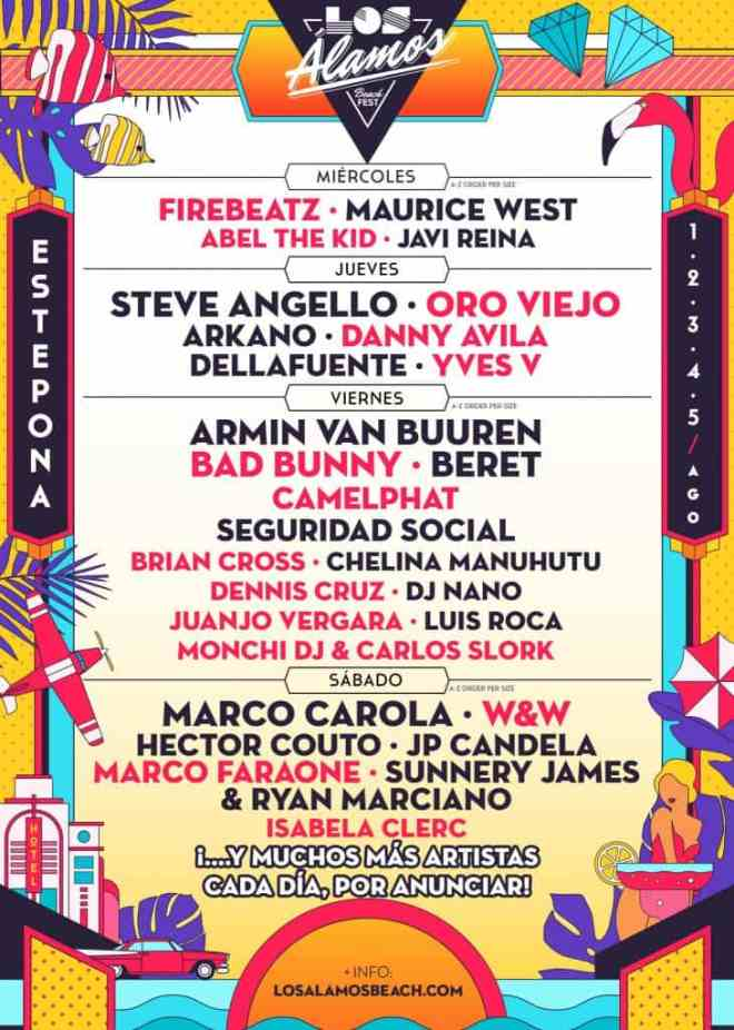 Los Alamos Beach Festival 2018