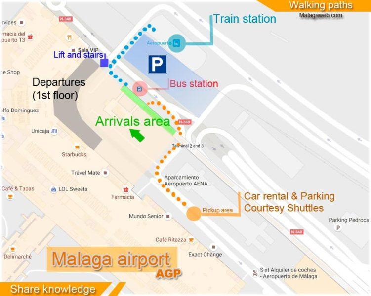 Mapa llegadas