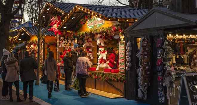 Christmas market in Estepona