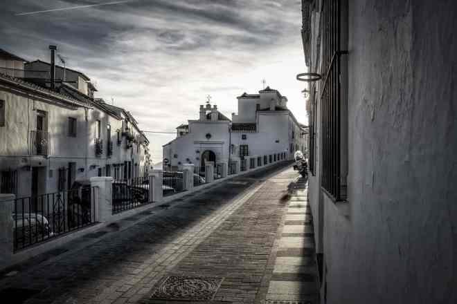 Streets of Mijas Town