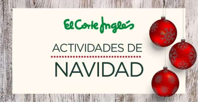 Christmas in the Corte Ingles
