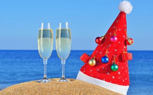 navidad playa 2015