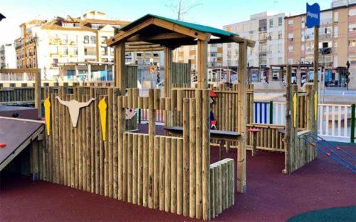 Playmobil playground in Rincón de la Victoria