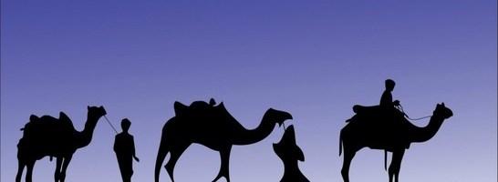 Trés Reyes Magos de Oriente
