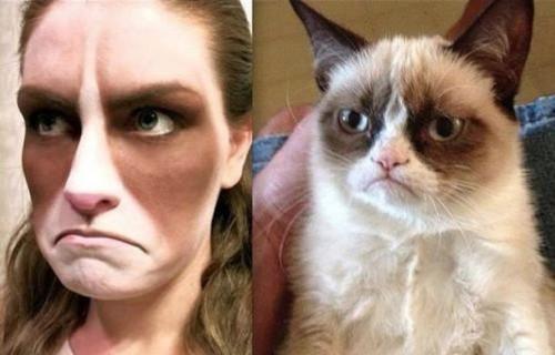 disfraz gato famoso