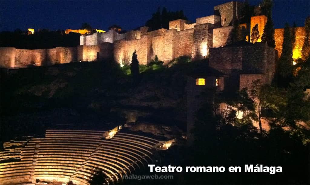 Teatro romano en Málaga