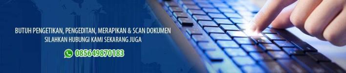 Banner Jasa Pengetikan Online