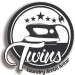 logo twins laundry panggilan malang