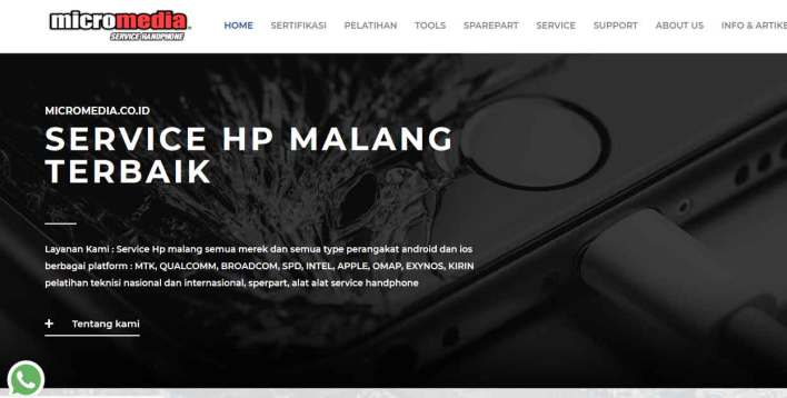 Micromedia Service Handphone Malang