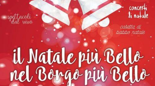 """Torna """"Il Natale più Bello nel Borgo più Bello"""""""