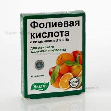 Folna kiselina sa vitaminom B12 i B6