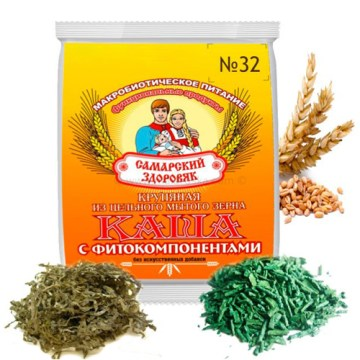 Pšenična kaša sa spirulinom i laminarijom (kaša br. 32)
