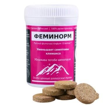 FEMINORM - Ublažava tegobe menopauze 30 briketa