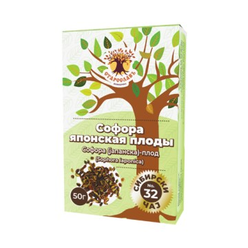Sibirski čaj JAPANSKA SOFORA - plod