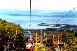 Ski slope on Ushuaia