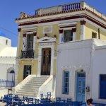 Main square, Chora, Serifos