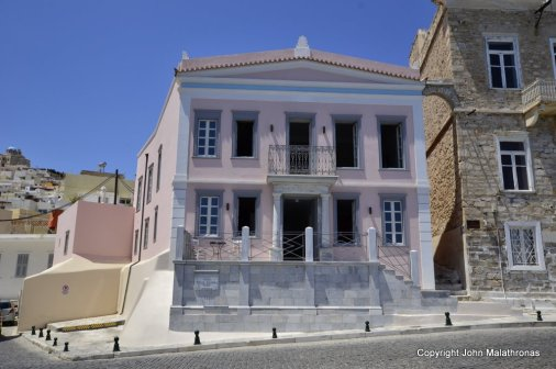 Neoclassical building Syros
