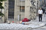 sleeping rough Sao Paulo Brazil