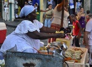 Baiana acaraje  salvador carnival