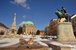 Pecs main square, Hungary