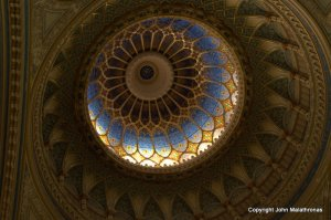 The dome of the Great Synagogue in Szeged