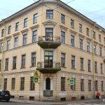 Right opposite Dostoevsky's Apartment is Raskolnikoff's assumed residence