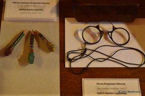 Nabokov's pince-nez and pencils