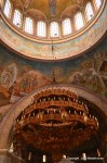 Detail of the interior of St Andrew's new church at Patras Greece