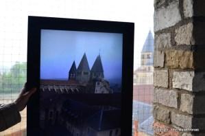 Cluny through the virtual reality of an iPad