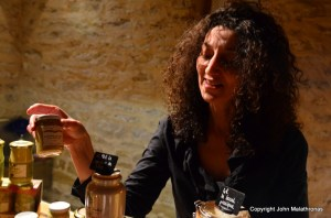 Nathalie Desarmenien wife of the Fallot mustard factory