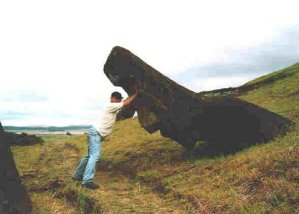 restore moai rapa nui