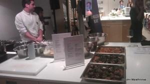 Cyclades cuisine dinner before London WTM 2013