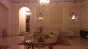 The lobby Grand Continental Bucharest