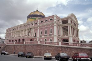 The Opera House in  Manaus