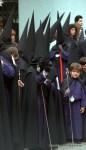 Black tunics, Semana Santa, Seville