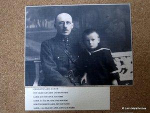 Karol Wojtyla and his father