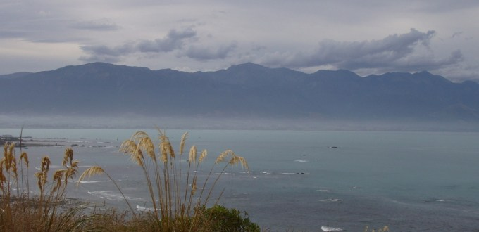 View of the mountains of Kaikoura