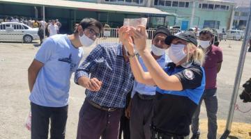Toplum Destekli Polisler Vatandaşları Uyardı