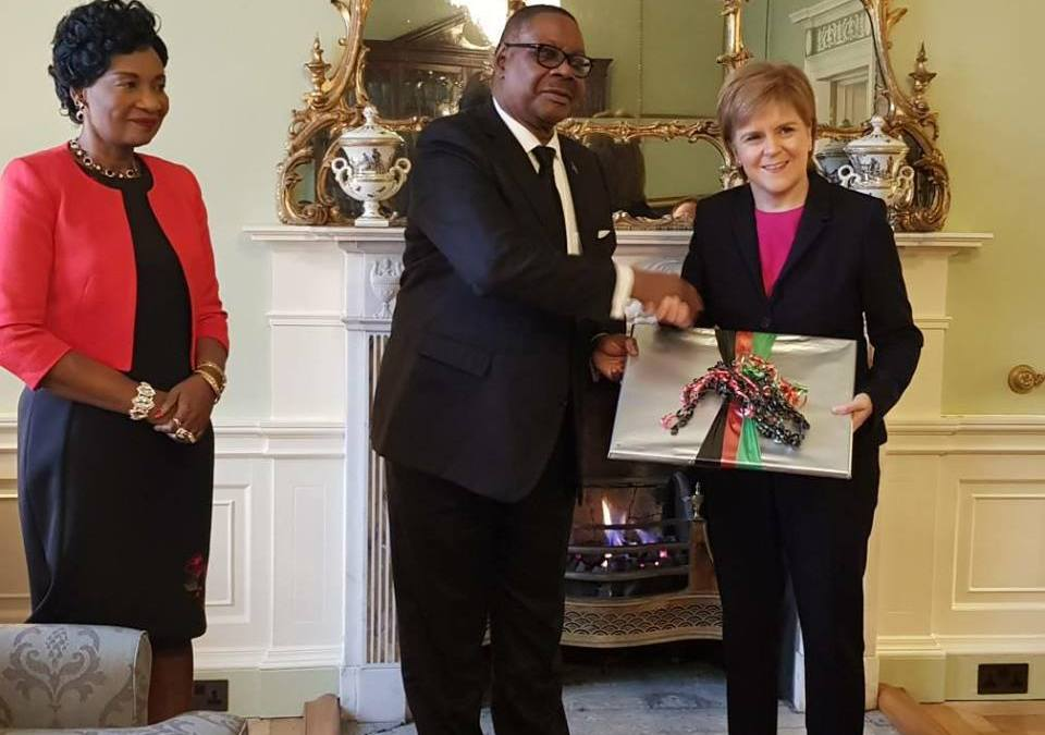 President of Malawi visits Scotland