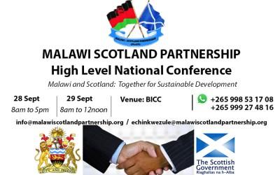 Malawi Scotland High Level National Conference