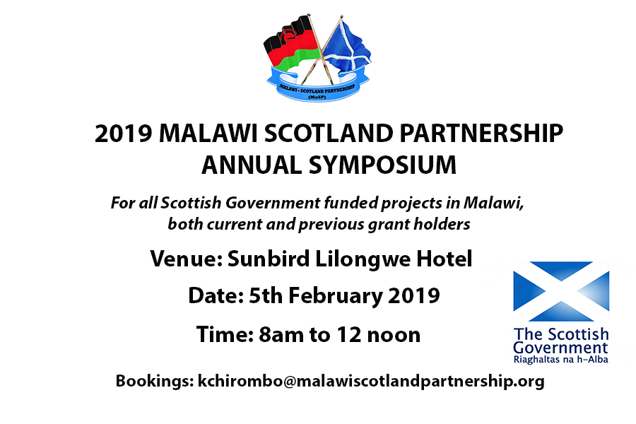 2019 MaSP Annual Symposium for Scottish Government Grant Holders