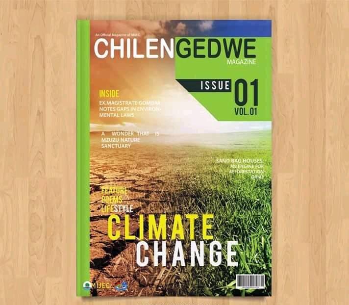 Malawi Institute of Journalism  Environmental Club-MIJEC  Publishes climate change Magazine
