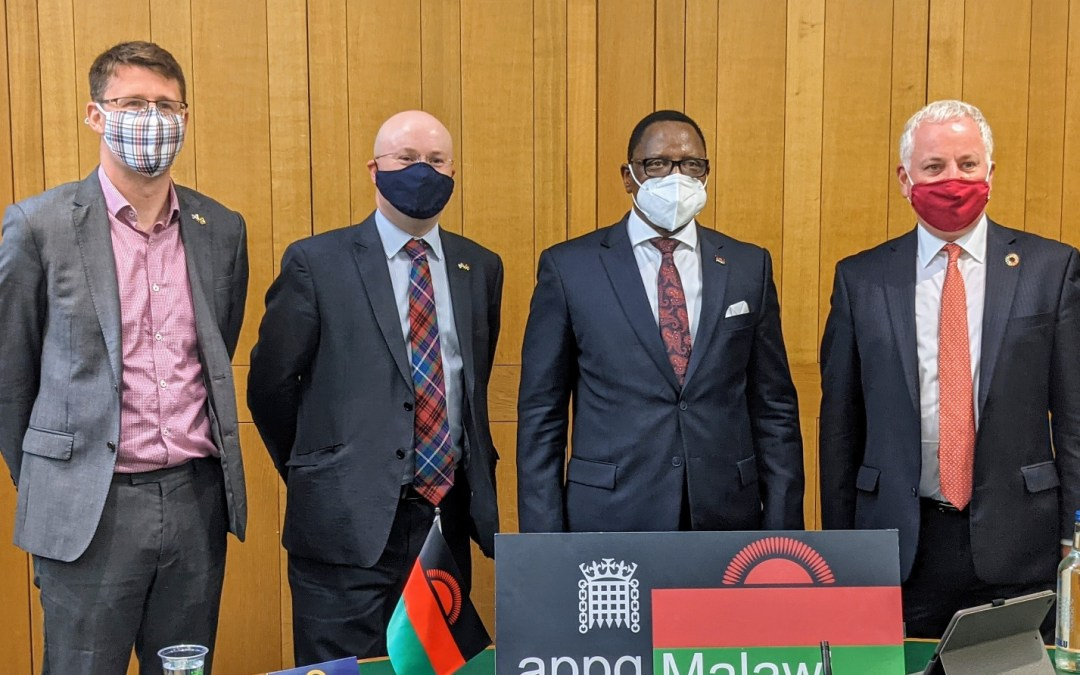 H.E. Lazarus Chakwera, President of Malawi, meets with Malawi APPG and Holyrood CPG