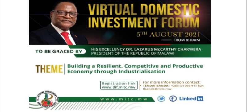 President Chakwera Calls for More local Investment at MITC Forum