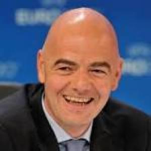 Infantino; new president