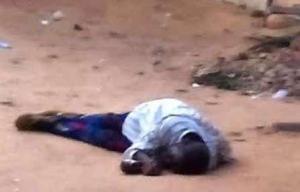 drunkard man dead (photo file)