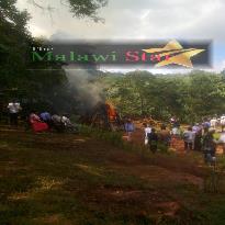 ivory being burnt in Mzuzu