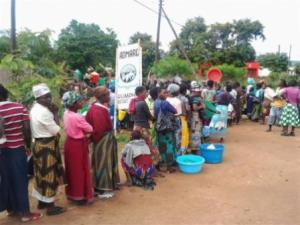 Admarc Queues: A common occurrence