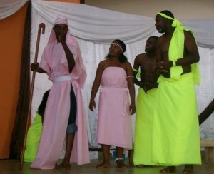 Nanzikambe Arts in one of their perfomances